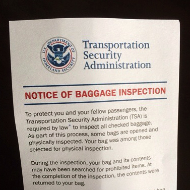 BaggageInspection
